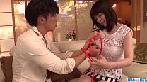 Nao Mizuki receives a tasty dick to smash her tight vag