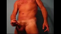 Big cock wanking hard and cum..meet me on Gforgay.com