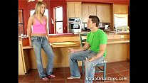 Naughty Babe Gets Spanked