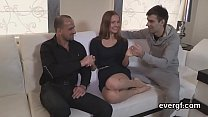 Bankrupt dude allows wicked buddy to pound his lover for dollars pornhub video