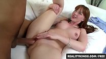 Cum Fiesta - Red head (Marie Mccray) loves cock...