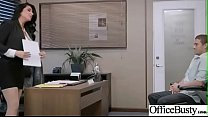 Slut Sexy Girl (Romi Rain) With Big Round Boobs In Sex Act In Office video-26