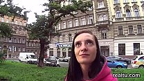 Attractive czech sweetie was teased in the mall and banged in pov Thumbnail
