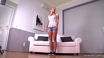 Sex Video Casting Makes Ultra Innocent Schoolgirl Christen Courtney Cum