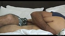 Indian young guy romance with big boobs desi wife