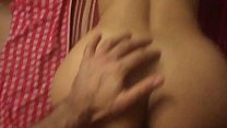 Cheating amateur Indian wife fucked hard and big cumshot on ass