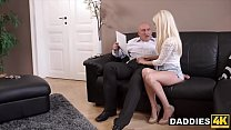 Stunning Hungarian Babe Fucks Her Boyfriend's Experienced Dad