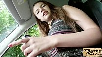 Stranded teen babe fucks for ride home Marina Visconti.1 pornhub video