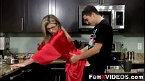 Stepson forced mom in kitchen part 3 - FREE Mom Tube Videos at FamXvideos.com preview image