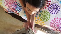 Step mom and companion' friend's daughter massage first time Seducing