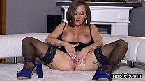 Kinky Czech Kitten Stretches Her Wet Slit To The Peculiar