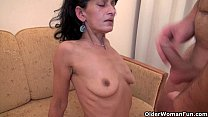 boy fuck hairy mom