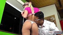 Blonde latin teen does everything good - Carol Castro - Tony Tigrao -  -  -