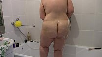 Casual, ordinary morning Russian bbw with a big ass, fetish. thumbnail