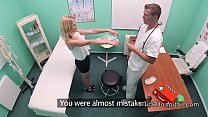 Doctor Bent Over Blonde And Fucked