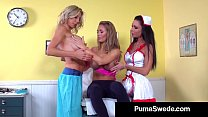 Blonde Babe Puma Swede Has 3Way Doctor Sex With...