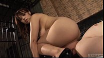 Subtitled thick Japanese facesitting with Reiko Nakamori preview image