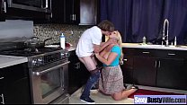 Sexy Wild Wife With Big Juggs Enjoy Sex On Tape clip-22