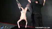 Sex toy domination and suspension bondage of ki... thumb