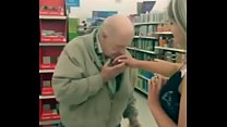 Slut fingers herself on walmart and lets strangers sniff her finger