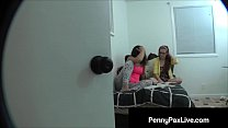 Penny Pax & BFF Abella Danger Caught On Video by Step Bro! - 9Club.Top