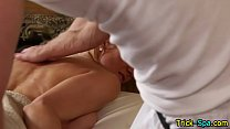 11021 Beauty rubbed by masseur preview