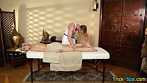 7234 Beauty rubbed by masseur preview