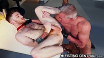 FistingCentral - Mature Boss Catches Employee Jerking