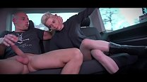 Mea Melone & Wendy Moon run the party in driving van full of fucking people - download porn videos