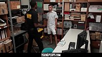 YoungPerps - Thief Gets fucked By Black cock thumbnail