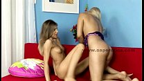 Lesbian delicious teen babes playing pornhub video