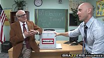 Brazzers - Big Tits at School - Jessie Rogers Johnny Sins - Fucking For School President image