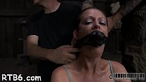 Leather pet gets her suffocating mask removed