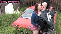 Girls Out West - Amateur Australian punk couple having sex video