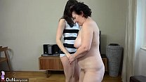 aishwarya sex - OldNanny Plump mature and pretty teen is playing with strapon thumbnail