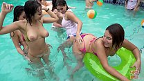 GIRLS GONE WILD - Pool Party With Marilyn Mansion, Nicole Rey, and Other Hot Amateurs!