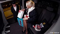 VIP SEX VAULT - Christmas car sex with hot Swedish blondie Lynna Nilsson preview image