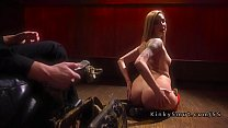 Blde stripper rough anal fucked in bdage - 9Club.Top