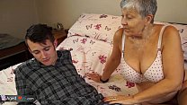 Old lady Savana  fucked by student Sam Bourne ent Sam Bourne