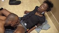 Slim Goodies black filly gets his big dick shoved in her pussy and gallops
