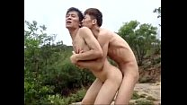 Hot chinese gay sex outdoors