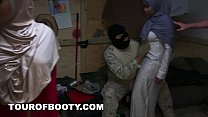 TOUR OF BOOTY - Arab Women Are Rounded Up By American Troops For A Good Time