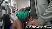 Msnovember Fucked By Stranger In Public Gym Rough Doggystyle Pounding & Blowjob صورة
