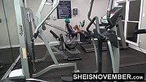 10893 Msnovember Fucked By Stranger In Public Gym Rough Doggystyle Pounding & Blowjob preview