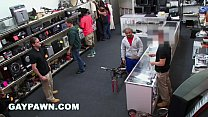 GAY PAWN - A Furloughed Government Worker Visits My Pawn Shop For Cash video