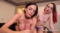 11816 Stepmom teaching me how to properly suck a cock preview