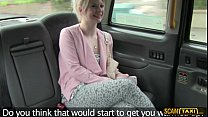 Gorgeous blonde Paige in wild adventure in the fake cab pornhub video
