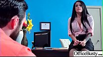 Big Melon Tits Girl (Katrina Jade) Love hardcore Sex In Office video-12 porn thumbnail