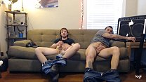 Couldn't afford the rate, so let them pay by jerking off. They didn't know it was recorded