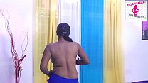 Uma bhabhi Bikini strip show - Indian beautiful...